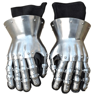 14th Century Hourglass Fully Functional Gauntlets