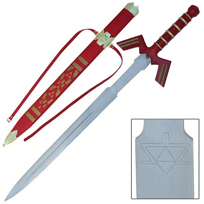 Legend Zelda Link Twilight Shadow Master Fantasy Costume Sword