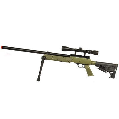 WellFire SPEC-OPS MB13D APS SR-2 Metal Sniper Rifle with Scope & Bipod