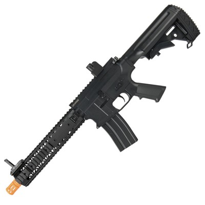 P2211 Quad RIS M4 Spring Airsoft Rifle with Grip Covers