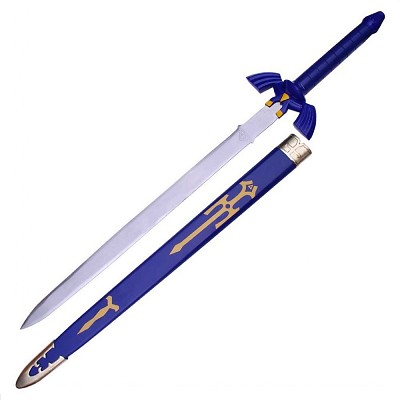 Legend of Zelda Ocarina of Time Master Sword With Scabbard