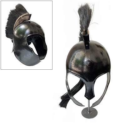 Decorative Achilles Troy Trojan Helmet With Stand