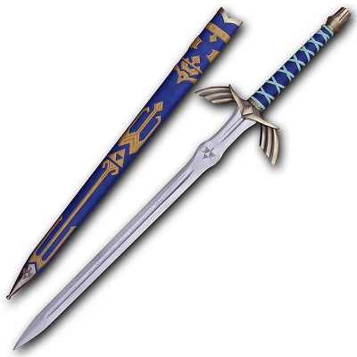 Links Ornate Prophecy Hero Sky Video Game Replica Sword Collectable