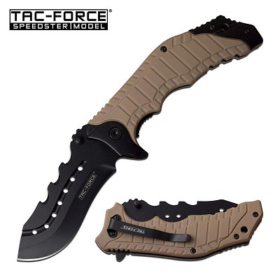 "8.25"" Tactical Survival Spring Assisted Open Folding Pocket Knife EDC"