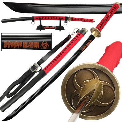 Zombie Slayer High Carbon Steel Full Tang Katana Sword